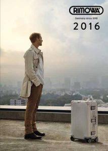 Rimowa Catalogue 2016